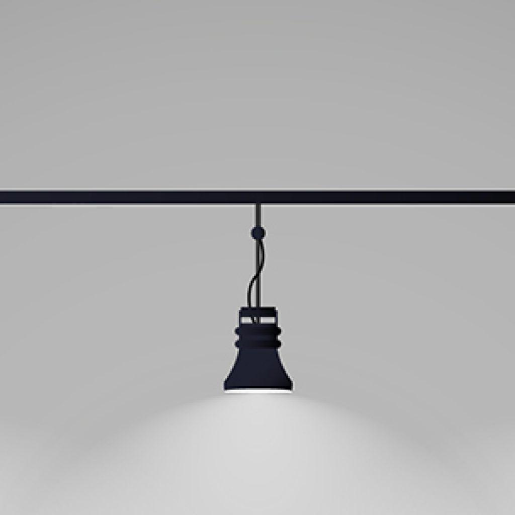 imagem de uma luminária.